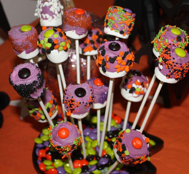 Marshmallow Pops Halloween